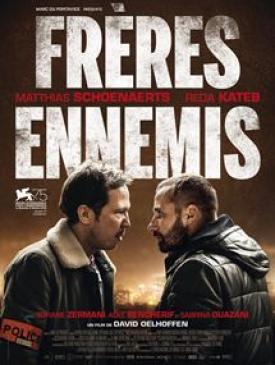 affiche du film Frères Ennemis