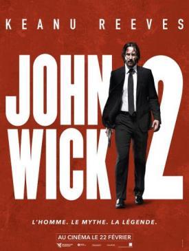 affiche du film John Wick 2