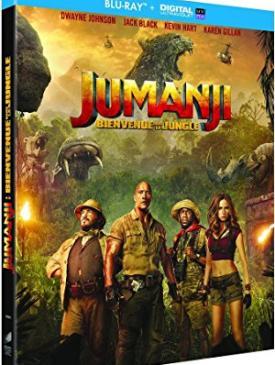 affiche du film Jumanji - Bienvenue dans la jungle