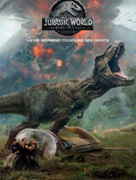 affiche du film Jurassic World- Fallen Kingdom