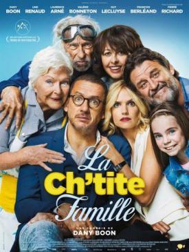 affiche du film La Ch'tite famille