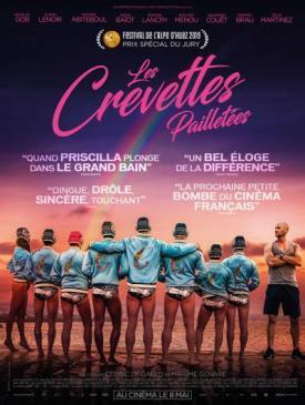 affiche du film Les Crevettes pailletées