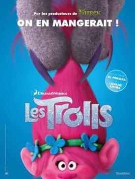 affiche du film Les Trolls 3D