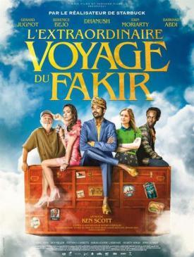 affiche du film L'Extraordinaire voyage du Fakir