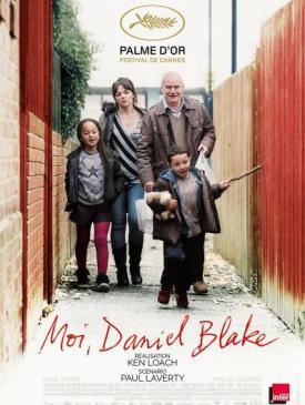 affiche du film Moi, Daniel Blake