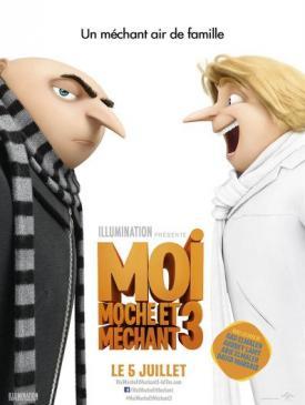 affiche du film Moi, moche et méchant 3