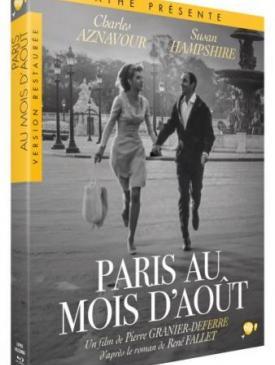 affiche du film Paris au mois d'aout