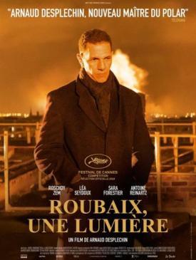 affiche du film Roubaix, une lumière