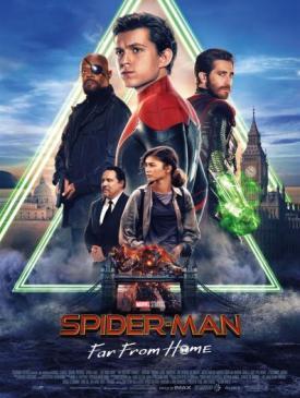 affiche du film Spider-Man: Far From Home