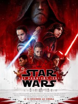 affiche du film Star Wars - Les Derniers Jedi
