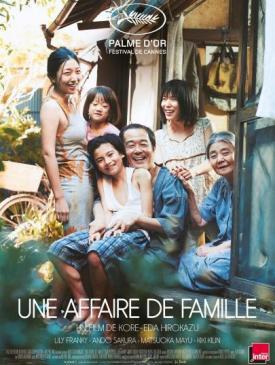 affiche du film Une Affaire de famille