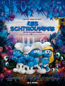affiche du film Les Schtroumpfs et le village perdu