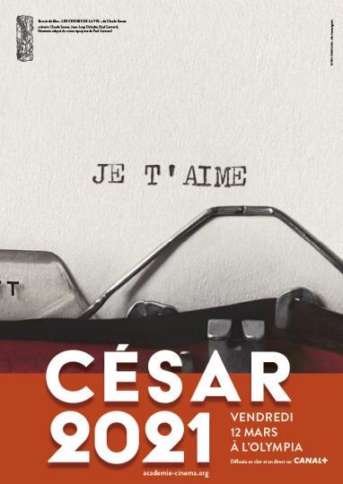 affiche 46ème Cérémonie des César