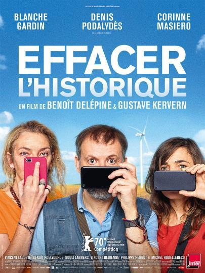 affiche Avant-première « Effacer l'historique »