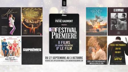 affiche Festival d'Avant première Gaumont