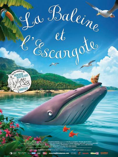 affiche La Baleine et l'escargote