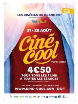 affiche du film 24e Édition de Ciné Cool du 21 au 28 août 2021