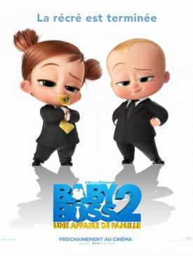 affiche du film Baby Boss 2 - une affaire de famille